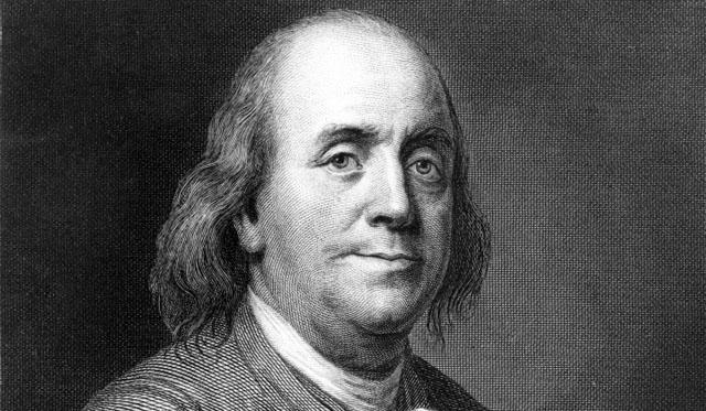 Бенджамін Франклін (1706-1790)